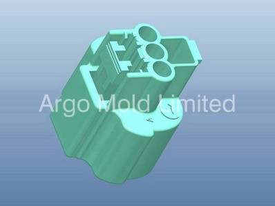 Injection Mold Precise Connector A